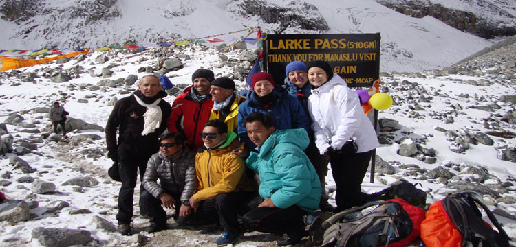 Manaslu Circuit Trek (Larkya Pass) - 21 Days | Manaslu Trek Via Evasion