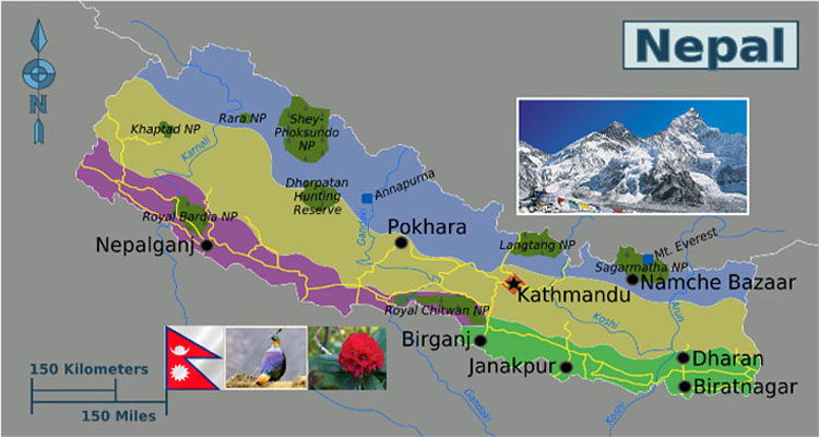 General information about nepal